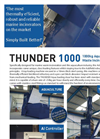 Addfield Thunder 1000 Aquaculture Waste Incinerator(1000Kg) - Full Specification Sheet