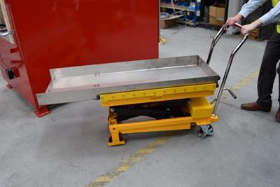 Addfield - Hydraulic Lift Table Pet Cremators (150Kg)