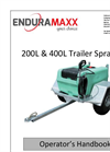 Enduramaxx - 200L & 400L - Trailer Sprayers - Brochure