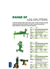 Major - Model LS3000 - Log Splitter Brochure