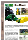 Model MJ50-240 - Disc Mower Brochure