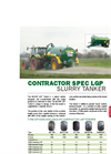 Contractor - Model LGP - Slurry Tanker  Brochure