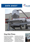 Haarslev - Hog Hair Press - Brochure