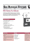 AutoBlend - Model 650 Series - Gas Blending Systems Brochure