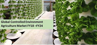 Controlled Environment Agriculture Market to Surpass USD 142 Billion by 2024, Fostered by Growing Food Demand and Practices of Indoor Farming