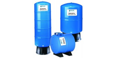 HydroPro - Model V6P-V350 Series - Water System Tanks