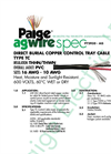 P7393D-AG Copper Tray Cable Brochure