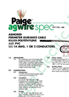 P7117D-AG Armored Perimeter Wire Brochure