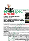 SureSeal - Model 600V - P7328D-Sureseal-AG - Agricultural Direct Burial Power Cables - Datasheet