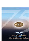 The Dupps 75th Anniversary - Brochure