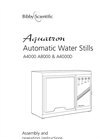 Aquatron - A4000 A8000 & A4000D - Automatic Water Stills Manual