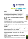 MICRO ENHANCER plus - Bioenhancement Nutrients