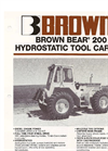 Brown Bear - Model 200 - Hydrostatic Tractor Brochure