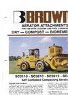 Brown Bear - Model SC3110 - SC3610 - SC3912 - SC4912 - Self Contained Composting Aerators- Brochure