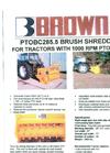 Model PTO PA35D-10.5 - Farm Tractor Composter Brochure