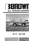 Model 20/250 - Terrain Carriers- Brochure