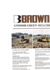 Model 5000 - Green Mulcher Brochure