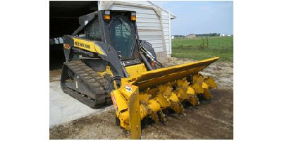 Brown-Bear - Skid Loader Composting Aerators