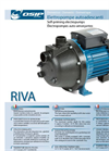 Self-priming Electropump Riva Series- Brochure