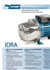 Self-priming Electropump IDRA Series- Brochure