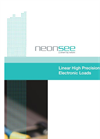 Linear High Precision Electronic Loads Brochure