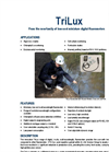 TriLux Fluorometer (for Chlorophyll, Phycoerythrin, Phycocyanin & Turbidity monitoring) Datasheet