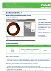 Version FMC-3 - Cable Measuring Software - Brochure