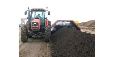 HCL Machine - Model CT-10 - Windrow Compost Turner