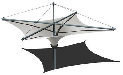 Tensile - Model California - Pre-Designed Canopies