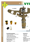 Model VYR-20 - Full-Circle Sprinkler Brochure