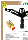 Model VYR-86 - Full-Circle Sprinkler Brochure