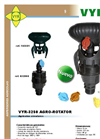 Rotative - Model VYR-3250 - Low Flow Sprinkler Brochure