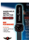 Fisher - CW-20 - Hand-Held Concealed Weapons Detector Specifications