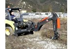 Backhoe for Skid Loaders