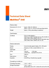 Multitec - Model 545 - Multiple Gas Measuring Device Technical Datasheet
