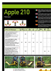 Apple - Model 210 - Telescopic Bushcutters - Brochure