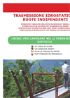 Cross - Model 120 - Self Levelling Propelled Fruit Harvester Brochure