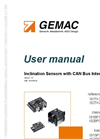 GEMAC - Model IS1BP360-C-BL - Inclination Sensor Manual