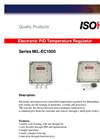 Model MiL-EC 1000 - Electronic PID Temperature Regulator Brochure
