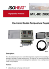 Model MiL-RD 2000 - Electronic Double Temperature Regulator Brochure