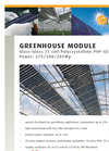 Greenhouse Modules 2 7 5 / 2 8 0 / 2 8 5 W p