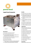 Power Knot - Liquid Food Composter (LFC) - Datasheet
