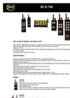 RCB700 Radio Commande Gamme Brochure