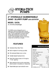 "Model S3CSL - 3"" Hydraulic Submersible Sand / Slurry Pump Brochure"
