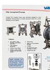 Yamada - Model FDA - Compliant Pumps - Brochure