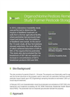 Case Study: Organochlorine Pesticides Remediation Study: Former Pesticide Storage 150