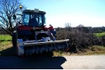 Model TFVJMF - Forestry Mulcher