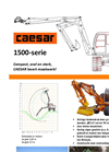 Caesar - Model 1506 / 1507 - Cranes Brochure