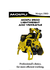 Moipu - Model 250 F1 - Felling Head with Knive Cut - Brochure