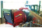 Model SM-SP series - Bale Blower/Feeder